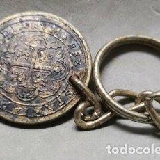 Collezionismo di Portachiavi: LLAVERO DE METAL MONEDA ANTIGUA REPRODUCCION - LLAV-13196 - B-388. Lote 254179520