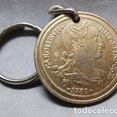 Collezionismo di Portachiavi: LLAVERO MONEDA ANTIGUA REPRODUCCION 1789 CAROLUS IV - LLAV-13198 - B-388. Lote 254179555