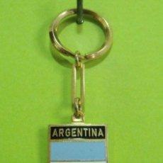 Coleccionismo de llaveros: LLAVERO BANDERA RECUERDO ARGENTINA. Lote 254444565