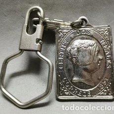 Collectionnisme de portes-clés: LLAVERO DE METAL MUEBLES LA FUENSANTICA, CARTAGENA - LLAV-13351 - B-395. Lote 254712190