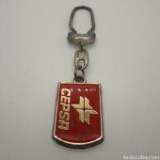 Collectionnisme de portes-clés: LLAVERO CEPSA. RALLY ESTACIONES DE SERVICIO. FIGUERES. ROSES. Lote 257737375