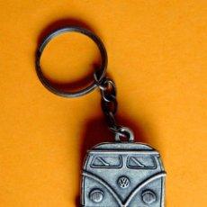 Coleccionismo de llaveros: LLAVERO DE LA FURGONETA DKW - EN METAL PLATEADO ENVEJECIDO - AÑOS 90 - ORIGINAL - NUEVO. Lote 258047365
