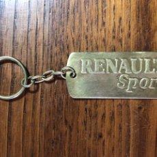 Collectionnisme de portes-clés: LLAVERO RENAULT SPORT COCHE. Lote 262447165