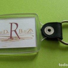 Coleccionismo de llaveros: LLAVERO RECUERDO BAEZA - JAÉN - VBEDA R BAEZA. Lote 263210750