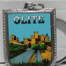 Collectionnisme de portes-clés: LLAVERO OLITE TURISMO. Lote 263613140