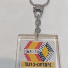 Collezionismo di Portachiavi: ANTIGUO LLAVERO RENAULT _ AUTO _ GETAFE. Lote 267777974