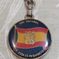 Collezionismo di Portachiavi: ANTIGUO LLAVERO SOY ESPAÑOL. Lote 268313514