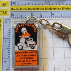 Collezionismo di Portachiavi: LLAVERO DE COCHES MOTOS. MOTO VESPA GILERA BIANCHI CONCESIONARIOS MALAGA. Lote 268983879
