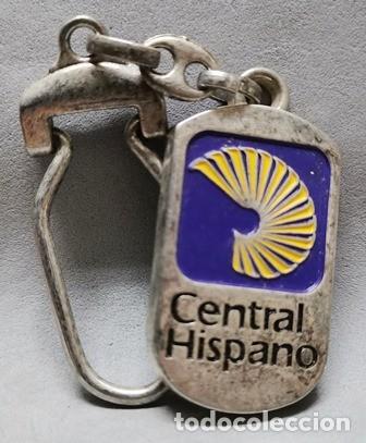 LLAVERO DE METAL ESMALTADO BANCO CENTRAL HISPANO - LLAV-13998 - B-436 (Coleccionismo - Llaveros)