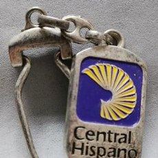 Coleccionismo de llaveros: LLAVERO DE METAL ESMALTADO BANCO CENTRAL HISPANO - LLAV-13998 - B-436. Lote 269052368