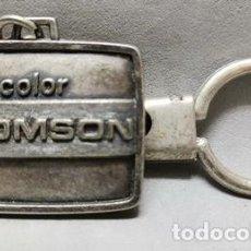 Coleccionismo de llaveros: LLAVERO DE METAL TV COLOR THOMSON - LLAV-14010 - B-436. Lote 269068968