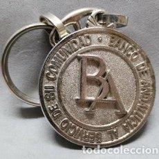 Coleccionismo de llaveros: LLAVERO DE METAL BANCO DE ANDALUCIA AL SERVICIO DE SU COMUNIDAD - LLAV-14012 - B-436. Lote 269070188