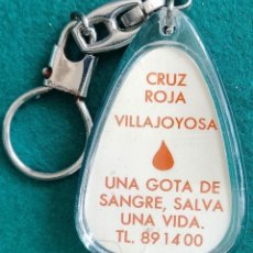 Collezionismo di Portachiavi: LLAVERO DE LA CRUZ ROJA DE VILAJOYOSA (ALICANTE). Lote 269286838