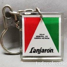 Coleccionismo de llaveros: LLAVERO DE METACRILATO AGUA MINERAL DE SIERRA NEVADA LANJARON - LLAV-13796 - B-424. Lote 287984818