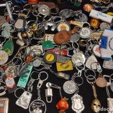 Coleccionismo de llaveros: 90 LLAVEROS DE DIVERSOS TEMAS DESDE LOS AÑOS 60 / BUENA CALIDAD GENERAL / VER FOTOS. 2,2 KG.. Lote 275851058