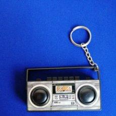 Coleccionismo de llaveros: RADIO AÑOS 80 LLAVERO (DIFICIL DE ENCONTRAR). Lote 277051193