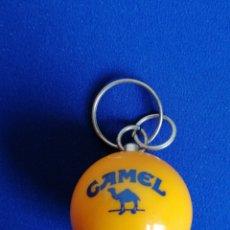 Coleccionismo de llaveros: CAMEL BOLA DE BILLAR LLAVERO. Lote 277060128