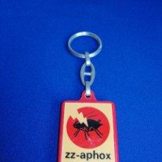 Coleccionismo de llaveros: INSECTICIDA ZZ-APHOX LLAVERO. Lote 277065758