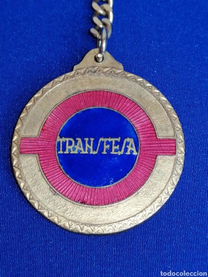Coleccionismo de llaveros: TRANSFESA (TRANSPORTES FERROVIARIOS ESPECIALES) - Foto 2 - 277609913
