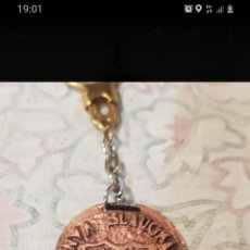 Coleccionismo de llaveros: LLAVERO F C BARCELONA PEÑA BLAUGRANA DE SAN VICENTE DE CASTELLET. Lote 277629618