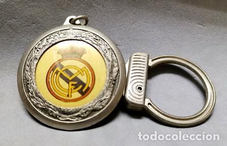 LLAVERO DE METAL ESMALTADO DEL REAL MADRID - A-LLAV-14596 - B-468 (Coleccionismo - Llaveros)
