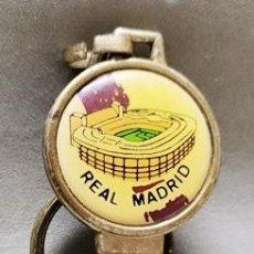 Coleccionismo de llaveros: LLAVERO DE METAL ESMALTADO REAL MADRID LA LLAVE DEL SOCIO - A-LLAV-14603 - B-468. Lote 278703188
