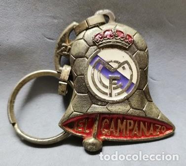LLAVERO DE METAL ESMALTADO EL CAMPANAZO - CAMPEON REAL MADRID - A-LLAV-14606 - B-468 (Coleccionismo - Llaveros)