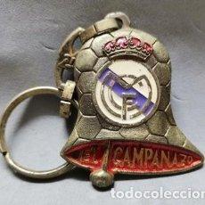 Coleccionismo de llaveros: LLAVERO DE METAL ESMALTADO EL CAMPANAZO - CAMPEON REAL MADRID - A-LLAV-14606 - B-468. Lote 278704153