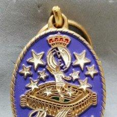 Coleccionismo de llaveros: LLAVERO DE METAL ESMALTADO REAL MADRID ORGULLO NACIONAL - A-LLAV-14608 - B-468. Lote 278704518