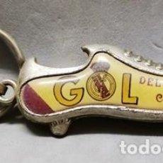 Coleccionismo de llaveros: LLAVERO DE METAL GOL DEL REAL MADRID CLARO - A-LLAV-14612 - B-468. Lote 278705278