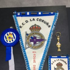 Coleccionismo de llaveros: LOTE RC DEPORTIVO DE LA CORUÑA - SUPER DEPOR. Lote 278812208
