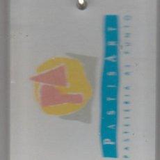 Coleccionismo de llaveros: LLAVERO METALICO Y METRAQUILATO COLECCION PANIFICADORA PASTISART Y MANUEL DE ARCOS DISTRIBUIDOL31. Lote 279497238