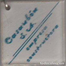 Coleccionismo de llaveros: LLAVERO METALICO Y METRAQUILATO COLECCION CASAKON EMPRESA CONSTRUCTORA L32. Lote 279499423