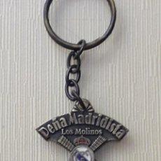 Colecionismo de porta-chaves: LLAVERO PEÑA MADRIDISTA LOS MOLINOS. Lote 286009938