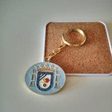 Colecionismo de porta-chaves: LLAVERO FEDERACION MELILLENSE DE FUTBOL COMITE TECNICO DE ARBITROS MELILLA INSIGNIA. Lote 286266853