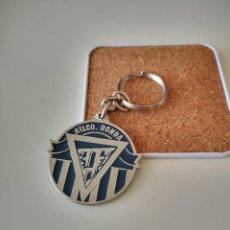 Colecionismo de porta-chaves: LLAVERO DEL ATLETICO RONDA CLUB DE FUTBOL MALAGA 1999-2000 INSIGNIA. Lote 286283808