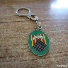 Colecionismo de porta-chaves: LLAVERO TEMA MILITAR BRIGADA DE MONTAÑA XII URGEL. Lote 287729518
