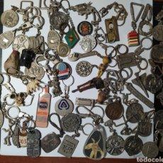 Coleccionismo de llaveros: LOTE DE MÁS DE 50 LLAVEROS, AÑOS 60 Y 70, ALGUNOS RAROS. OCASIÓN.. Lote 288985648