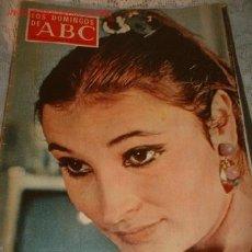 Coleccionismo de Los Domingos de ABC: REVISTA -LOS DOMINGOS DE ABC- ABRIL 1970 EN PORTADA AMPARO PAMPLONA. Lote 549673