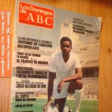 Coleccionismo de Los Domingos de ABC: REVISTA LOS DOMINGOS DE ABC 23 DE SEPTIEMBRE 1979 PORTADA CUNNINGHAN DE CERCA.. Lote 3089507