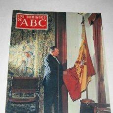 Coleccionismo de Los Domingos de ABC: LOS DOMINGOS DE ABC. 22/06/1969. DON JUAN DE BORBÓN. . Lote 24444247