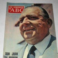Coleccionismo de Los Domingos de ABC: LOS DOMINGOS DE ABC. 23/06/1968. DON JUAN DE BORBÓN. . Lote 24444248