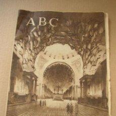Coleccionismo de Los Domingos de ABC: ABC, DIARIO ILUSTRADO- 29 DE OCTUBRE DE 1943- VER FOTOS. Lote 23152962