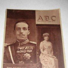 Coleccionismo de Los Domingos de ABC: ABC, DE 26 DE FEBRERO DE 1955. XIV ANIVERSARIO DEL FALLECIMIENTO DE S.M. EL REY D. ALFONSO XIII. Lote 25572551