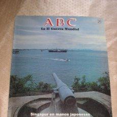 Coleccionismo de Los Domingos de ABC: 2ª GUERRA MUNDIAL - ABC - Nº 29 - AGONIA BRITANICA.. Lote 17038861
