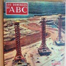 Coleccionismo de Los Domingos de ABC: LOS DOMINGOS DE ABC - 23 NOVIEMBRE 1969 - HISTORIA DEL BARÇA - CARRERA ESPACIAL. Lote 18856538