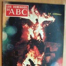 Coleccionismo de Los Domingos de ABC: LOS DOMINGOS DE ABC - 16 MARZO 1969 - VALENCIA - VON BRAUN - MARC CHAGAL - ANA DE INGLATERRA. Lote 17416650