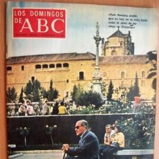 Coleccionismo de Los Domingos de ABC: LOS DOMINGOS DE ABC - 9 NOVIEMBRE 1969 - GRANADA - AUTOMOVIL ELÉCTRICO - LUCA DE TENA. Lote 17312408