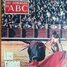 Coleccionismo de Los Domingos de ABC: LOS DOMINGOS DE ABC - 11 DE MAYO DE 1969 - EN PORTADA- LOS TOROS A DEBATE (7 PÁGINAS). Lote 20359078