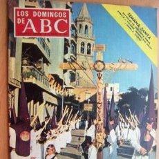 Coleccionismo de Los Domingos de ABC: LOS DOMINGOS DE ABC - 30 DE MARZO DE 1969 - EN PORTADA- LA SEMANA SANTA . Lote 18563071